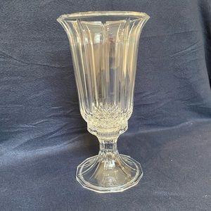Crystal Pedestal Vase